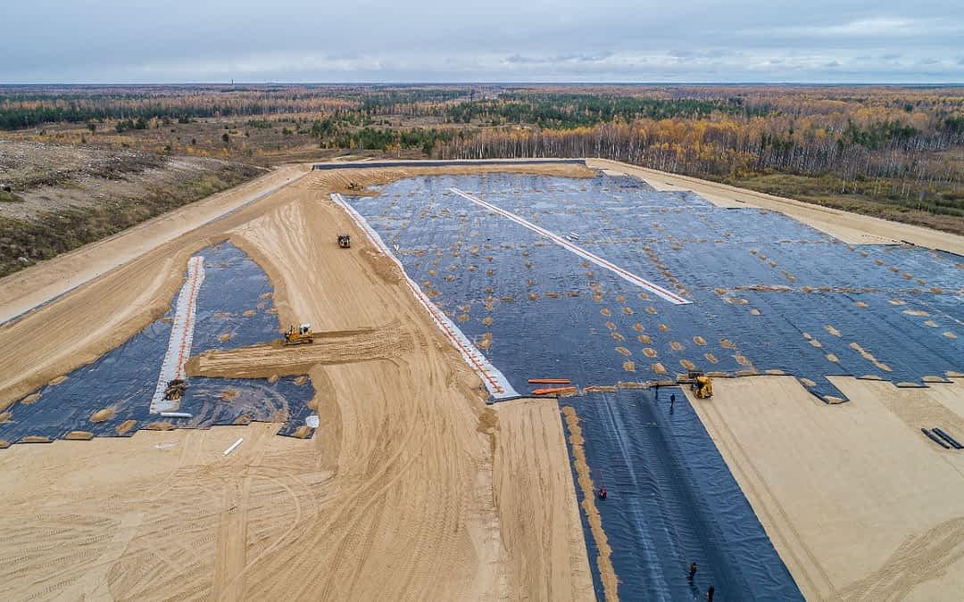Reservatório de Geomembrana PEAD como é feita a instalação Nortene