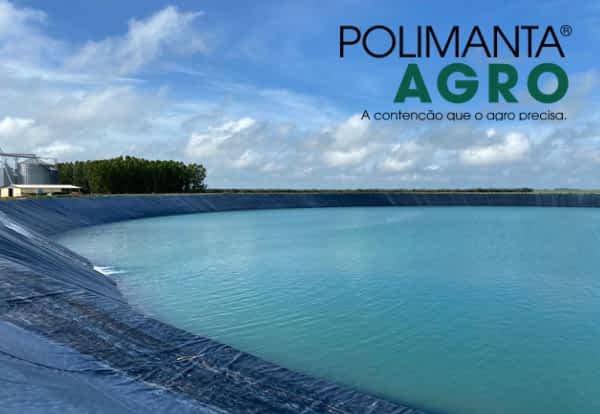 Importância da armazenagem sustentável de água para irrigação com Polimanta Agro